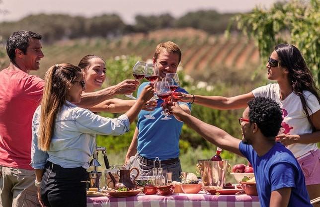 Tapas and wine tasting